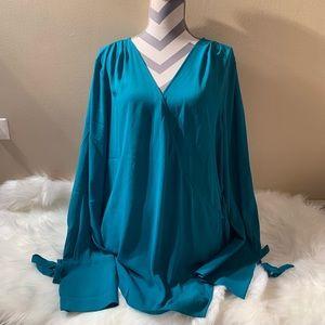 """Trouve size XXL envelope blouse NWOT length 30"""""""